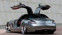 MEC Design W197 Mercedes SLS AMG design study illustration