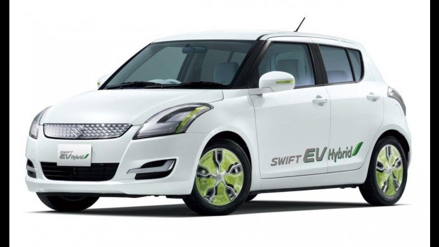 Suzuki Regina, Q-Concept e Swift EV Hybrid al Salone di Tokyo