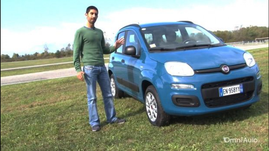 Nuova Fiat Panda Natural Power, a metano con brio