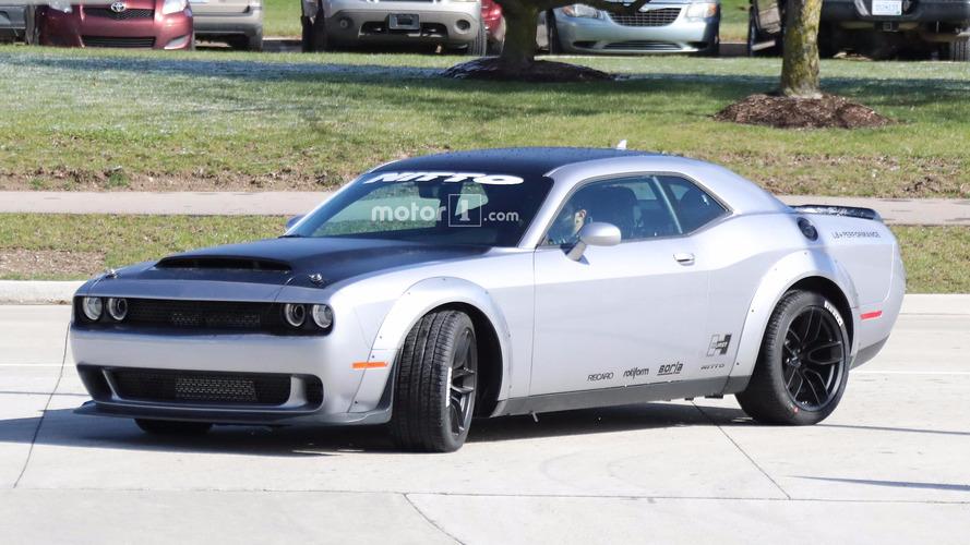 Dodge Challenger SRT Demon Spied Just Ahead Of New York Debut
