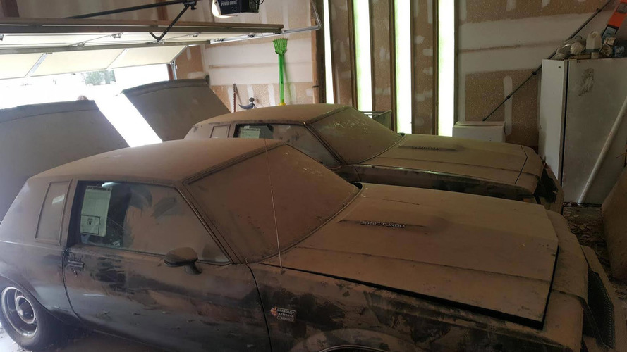 Buick Grand National Twins Found With Combined 2,251 Km