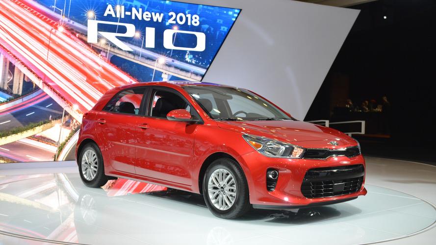 2018 Kia Rio U.S. Spec