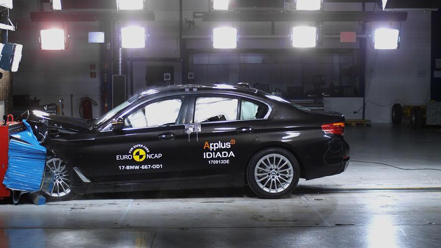 BMW Série 5 alcança 5 estrelas e arranca elogios do Euro NCAP