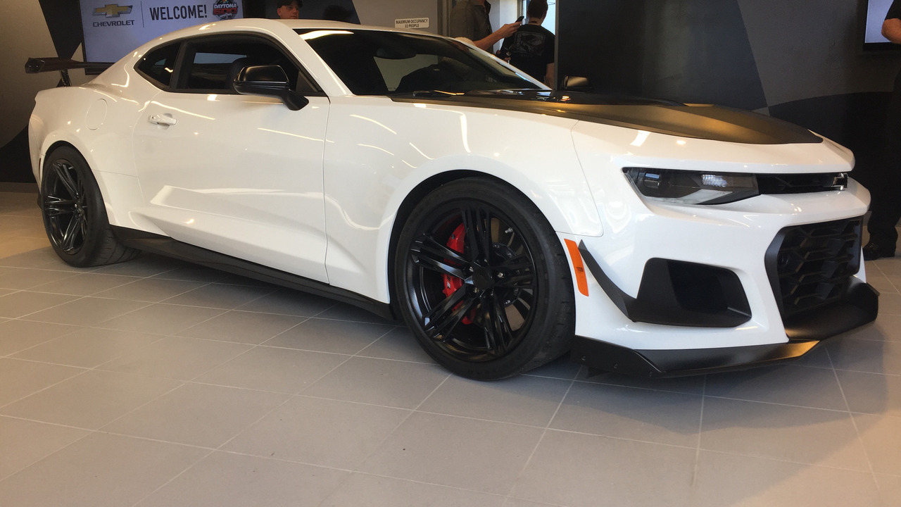 2018 Camaro Zl1 Gets Extreme 1le Track Pack For 7 500