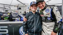 Petter Solberg y su hijo Oliver Solberg