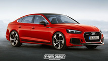 Rendus Audi RS 5 Shooting Brake, Sportback, Cabriolet