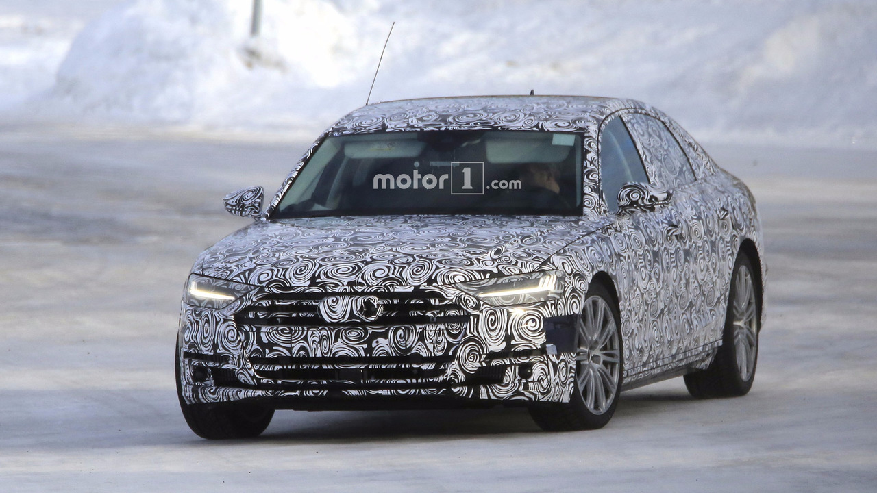 2019 Audi S8 Casus Fotoğrafları