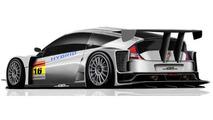 Honda Mugen CR-Z GT300 race car deisgn rendering, 640, 03.02.2012