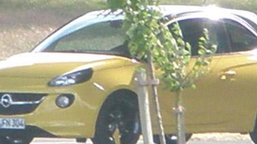 2013 Opel Adam spied undisguised