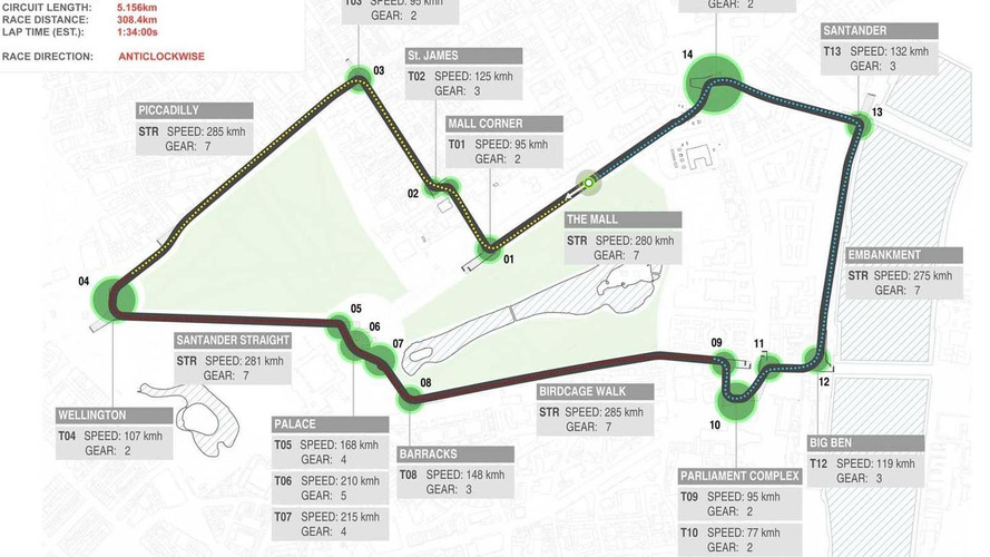 Santander envision possible London Grand Prix circuit [video]