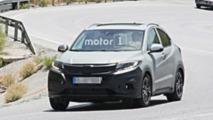 Honda HR-V facelift spy photo
