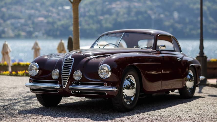 Alfa Romeo, la 6C 2500 SS illumina il Villa d'Este Style 2018