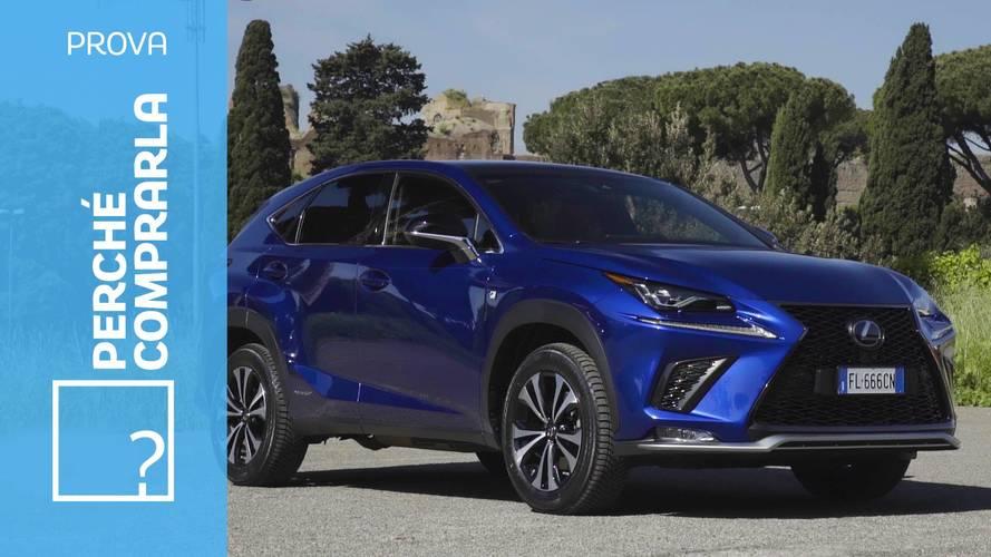 Lexus NX (2018), perché comprarla… e perché no