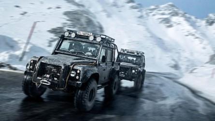 James Bond Land Rover Up For Sale