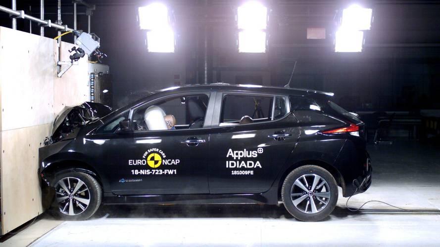 Yeni Nissan Leaf, Euro NCAP çarpışma testlerinden 5 yıldız aldı