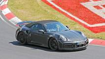 Porsche 911 Turbo Cabriolet Spy Shots