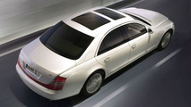 Maybach 57 S in a Shining White Livery