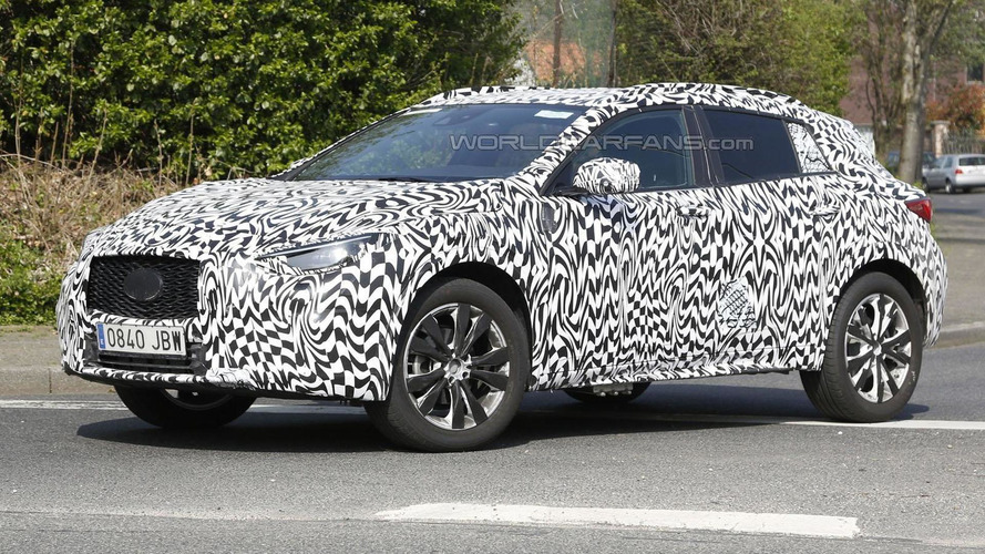 2016 Infiniti QX30 spied showing new details