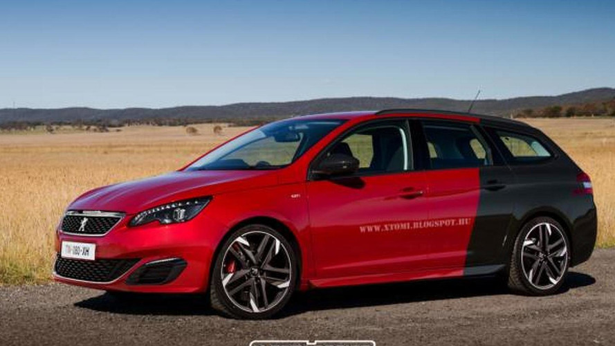 Peugeot 308 GTi SW digitally imagined