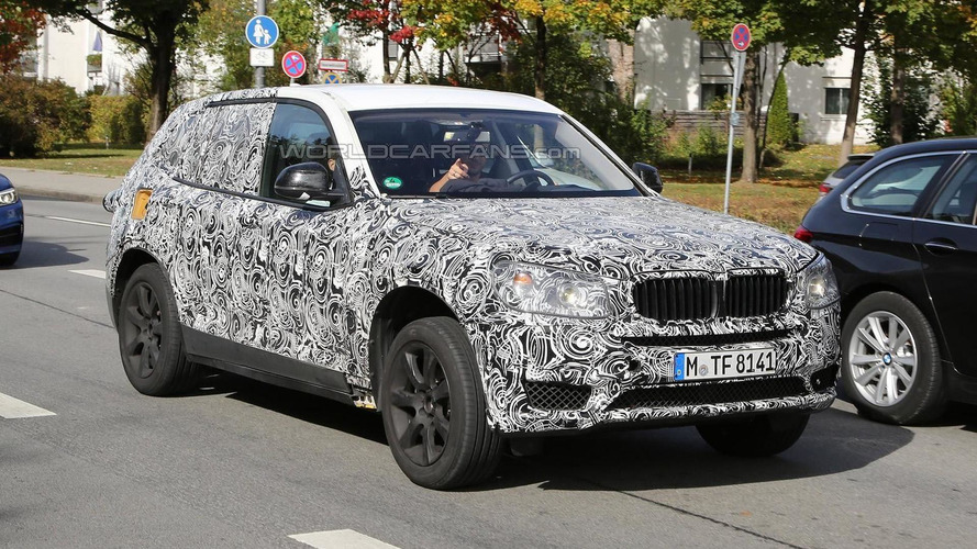 2017 BMW X3 early prototype spied in southern Germany (18 photos)