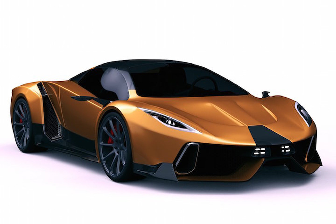 Shocking News: The 1,400HP PSC Hypercar is Just a Rendering
