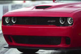 Dodge Put an Air Intake in the Headlight of its New Challenger [W/Video]