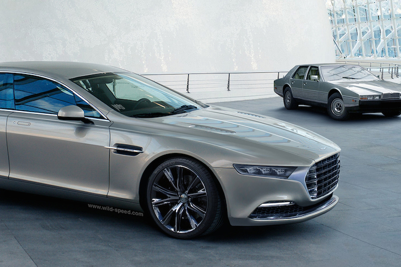 Reborn Aston Martin Lagonda Concept Looks Surprisingly Good