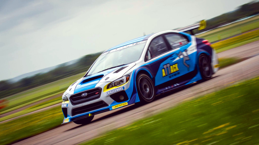Subaru WRX STI breaks own Isle of Man TT lap record