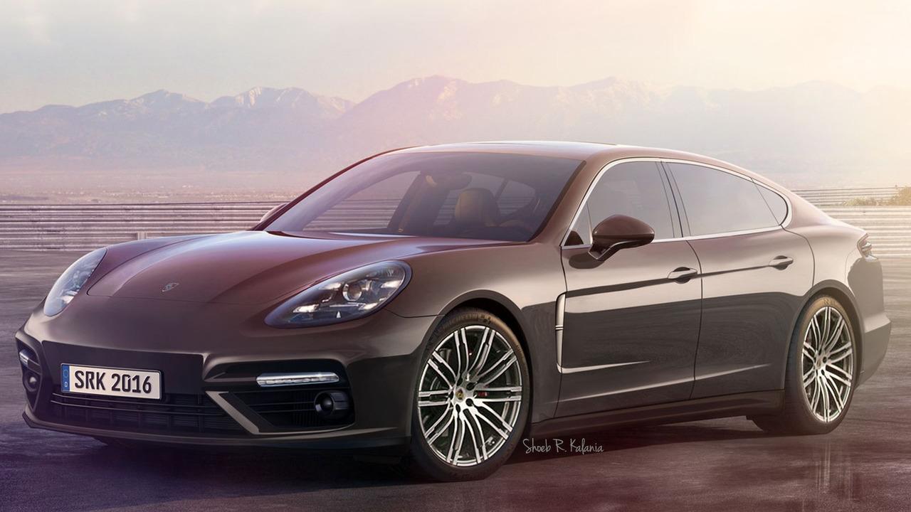 2017 Porsche Panamera speculative render