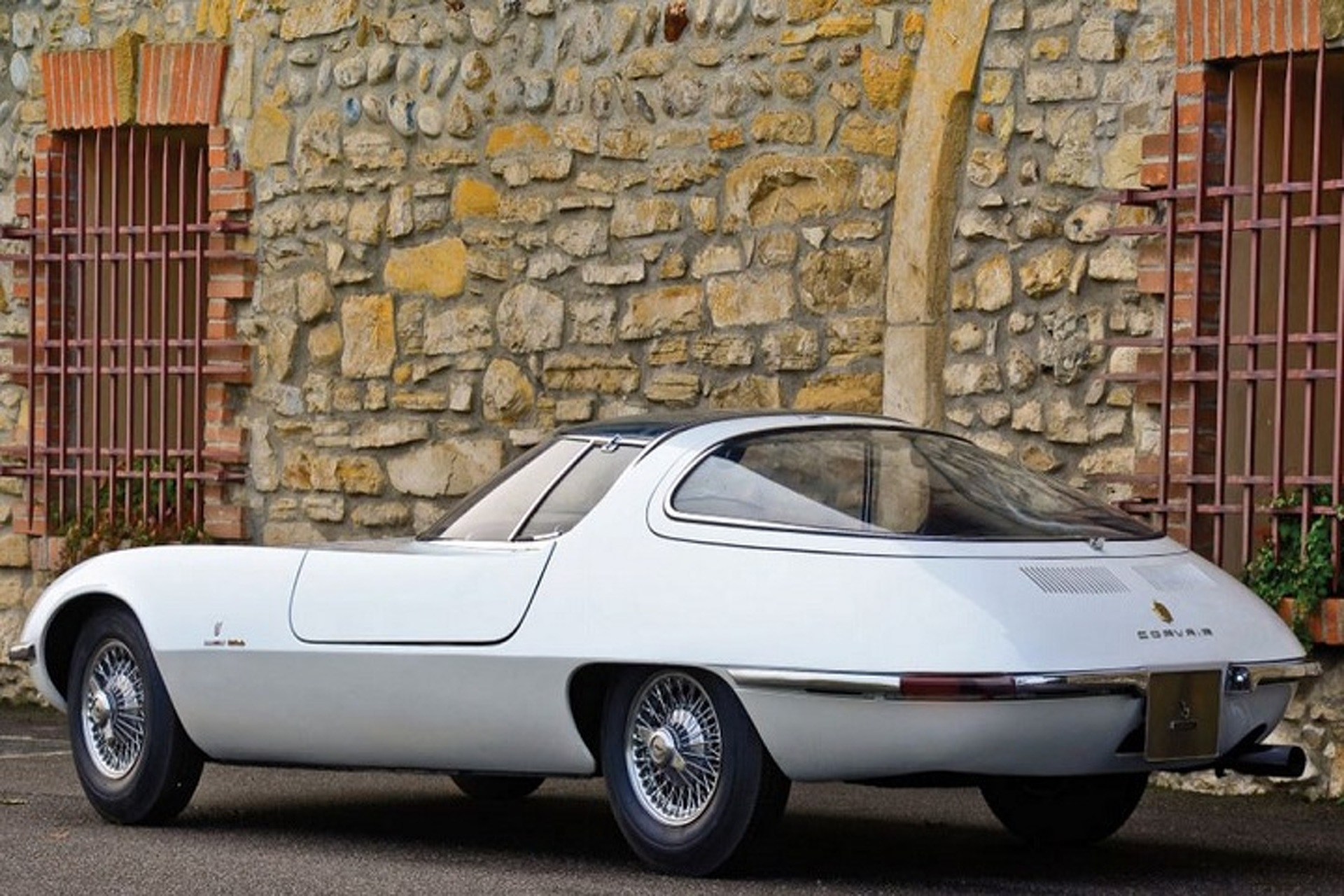 The Uncanny Style of the 1963 Bertone Corvair Testudo