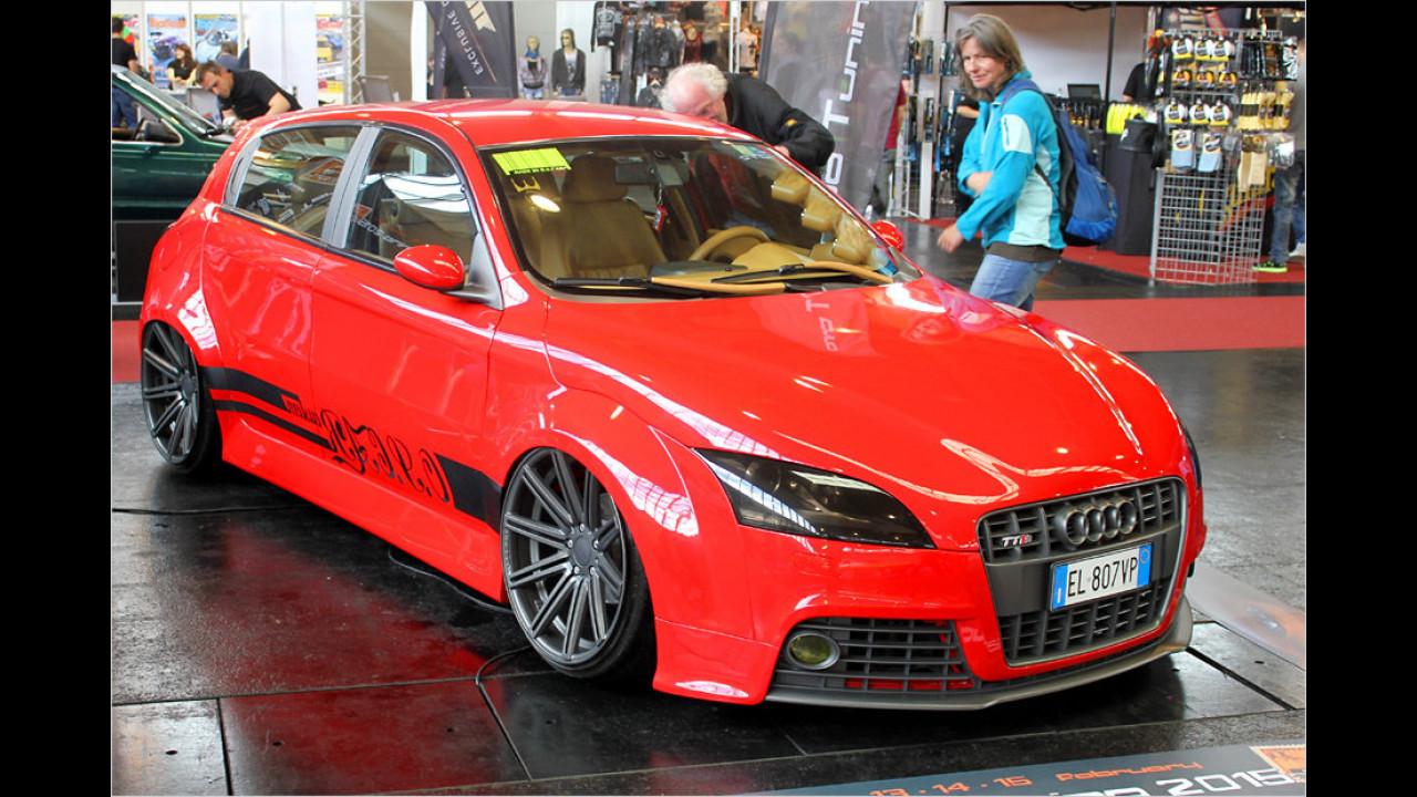 Alfa-Audi für die Expo Tuning Torino 2015