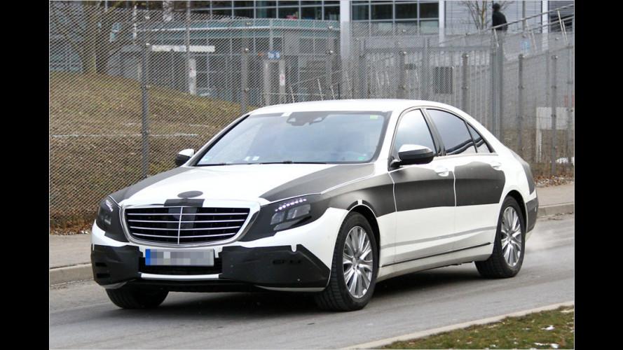 Erwischt: Neue Mercedes S-Klasse