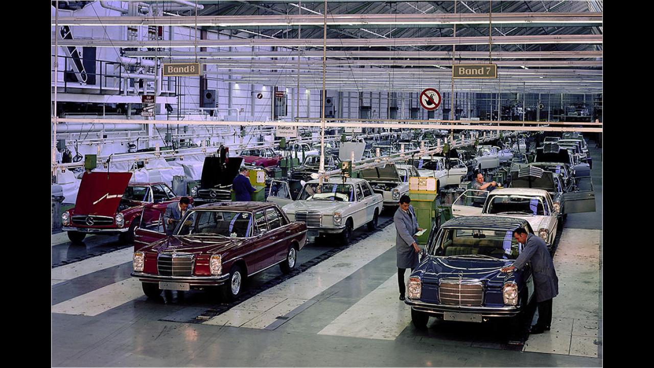Mercedes 200 – 280 ,Strich-Acht