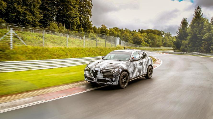 L'Alfa Romeo Stelvio Quadrifoglio décroche son record du Nürburgring
