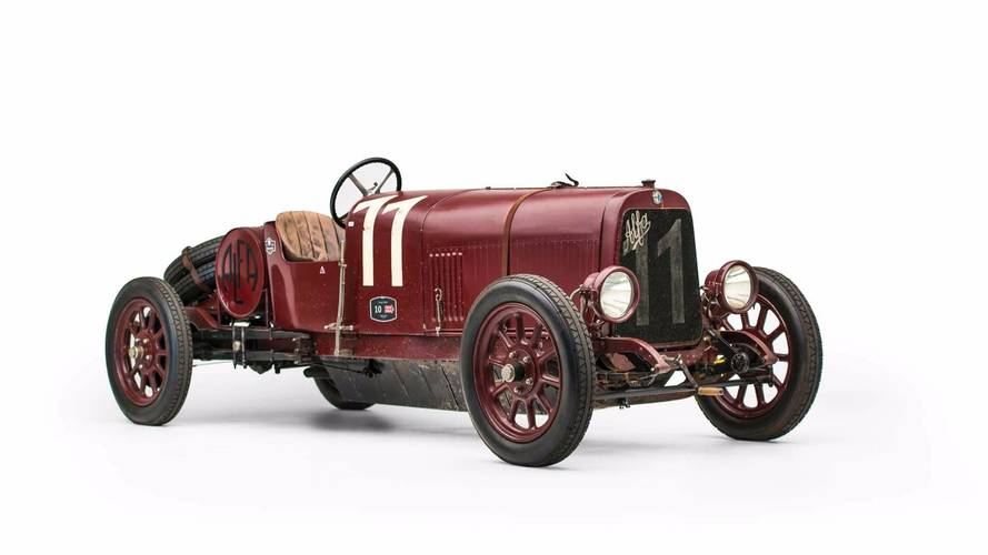 First Ever Alfa Romeo Model Is Heading To Auction