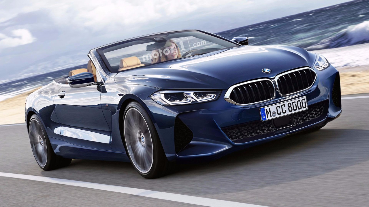 BMW 8 Series Cabrio Rendering