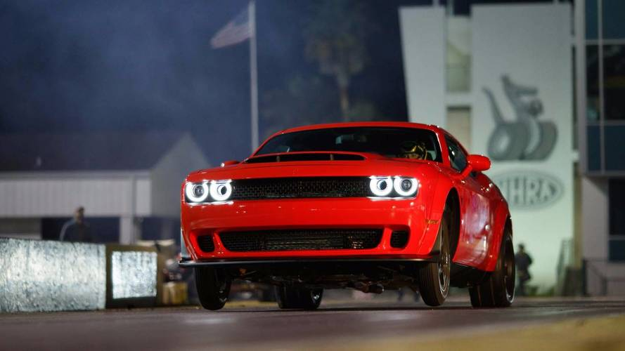 Watch Hennessey Take The Dodge Challenger Demon To Its Top Speed