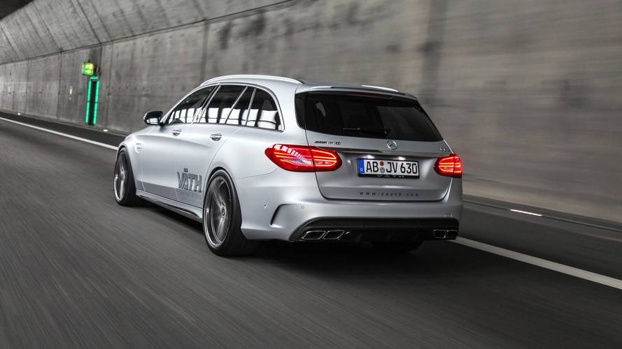 700-HP Mercedes-AMG C63 Estate Can Do 211 MPH