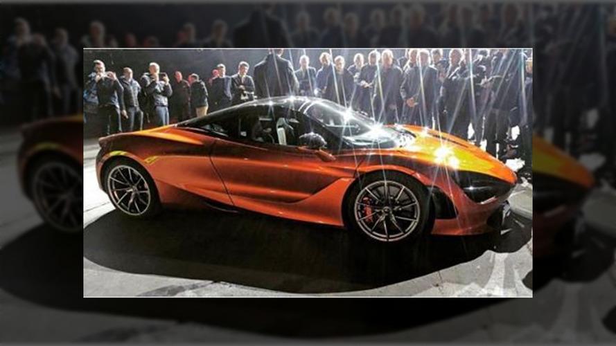 McLaren P14 Leaked Photo