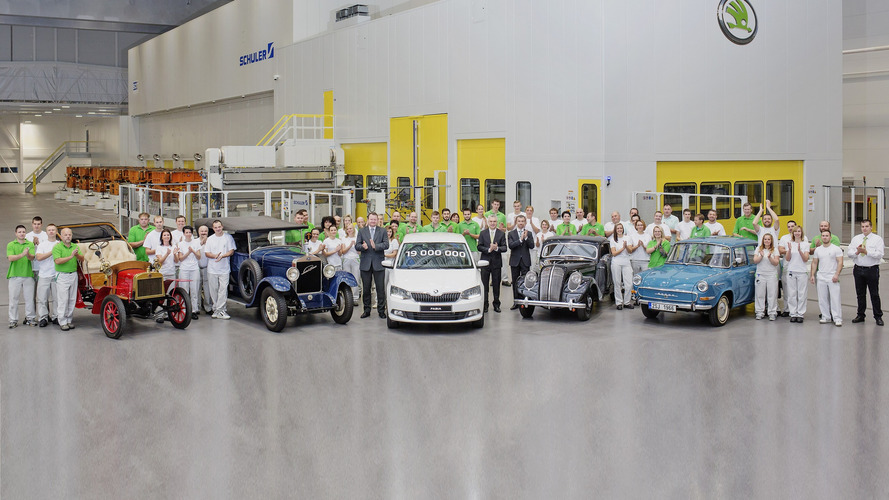 Say hello to Skoda's 19 millionth vehicle