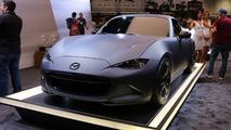 Mazda MX-5 Miata RF Kuro concept live photos
