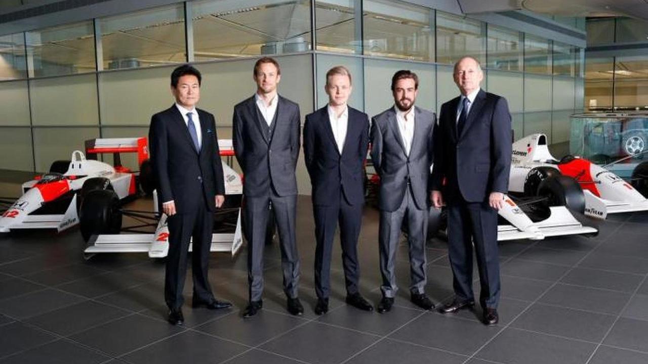 McLaren 2015 lineup