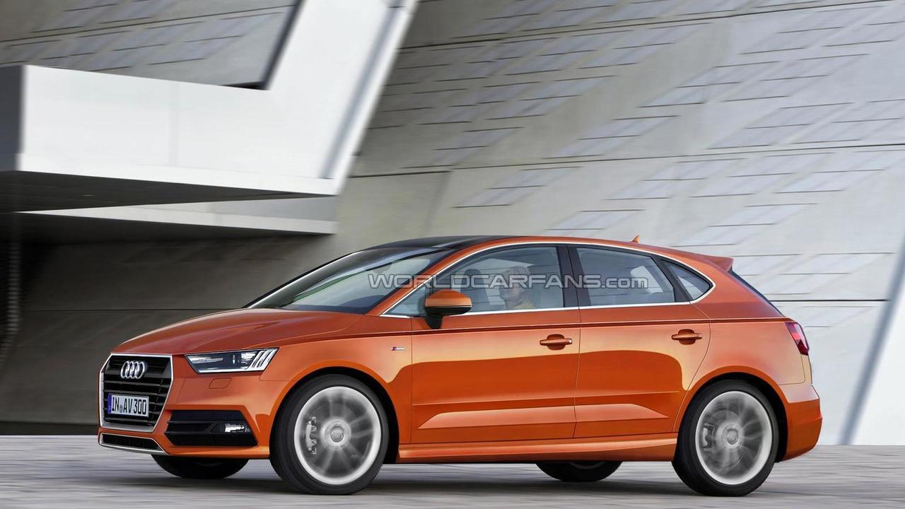 Audi A3 Vario render