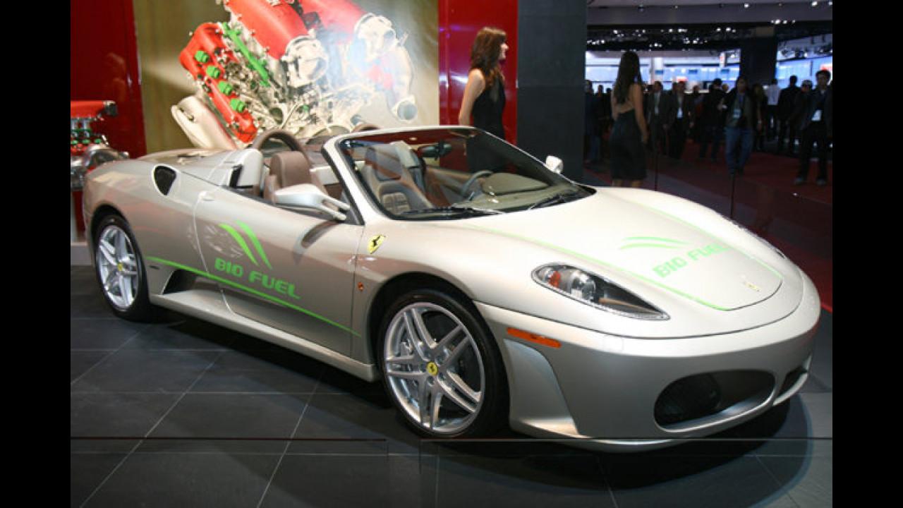 Ferrari F430 Spider Biofuel