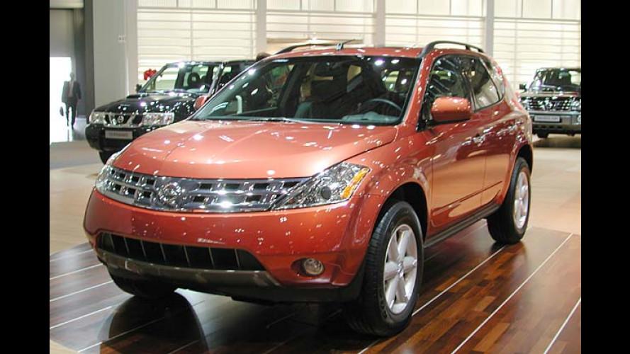Nissan Murano: Vorverkauf hat begonnen