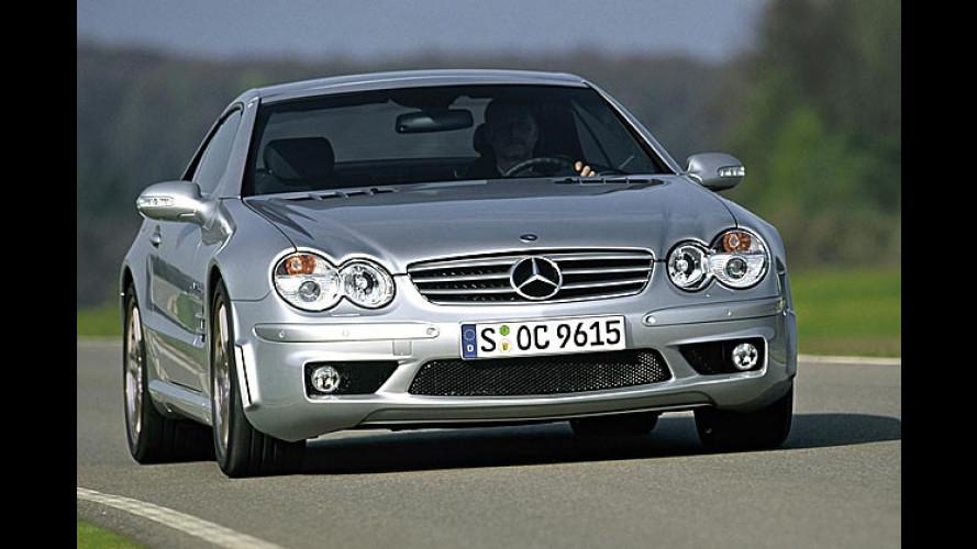 Mercedes SL 65 AMG: Kraftprotz mit 612 PS und 1.000 Nm