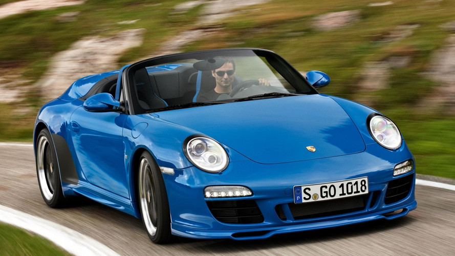 2011 Porsche 997 Speedster Motor1 Com Photos