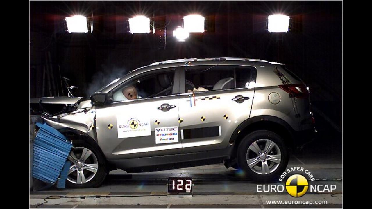 Sieger Allrad-SUVs: Kia Sportage