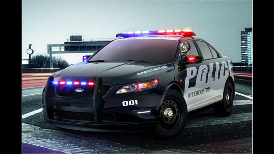 Ford: Neuer Dienstwagen für die US-Polizei