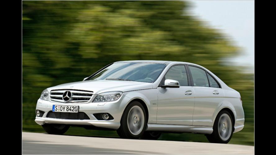 Mercedes C-Klasse: Jetzt mit Start-Stopp-Automatik